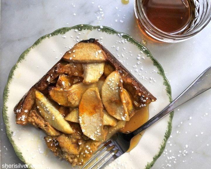 apple-pumpkin-waffle-bake #FueledForSchool #Ad