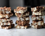 cookie jar: chocolate popcorn bars