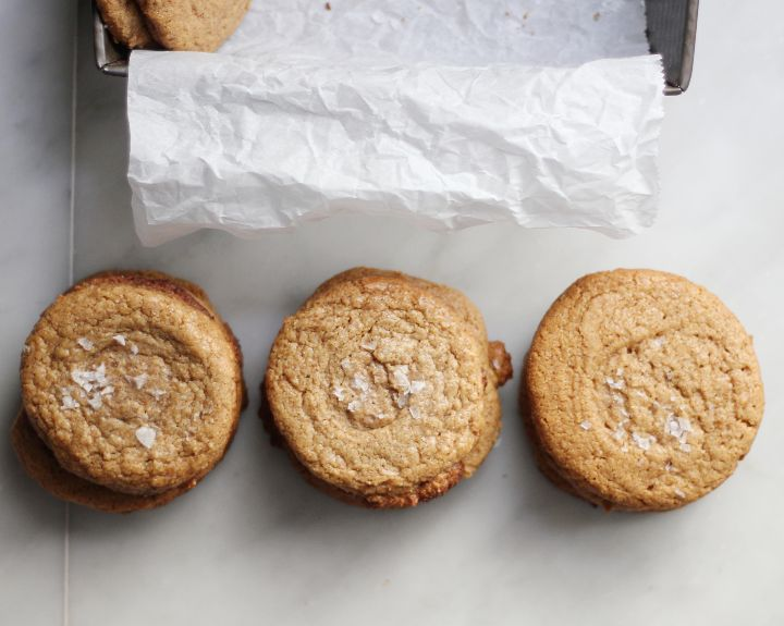 flourless almond butter cookies