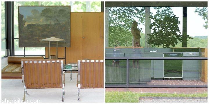 glass house interiors