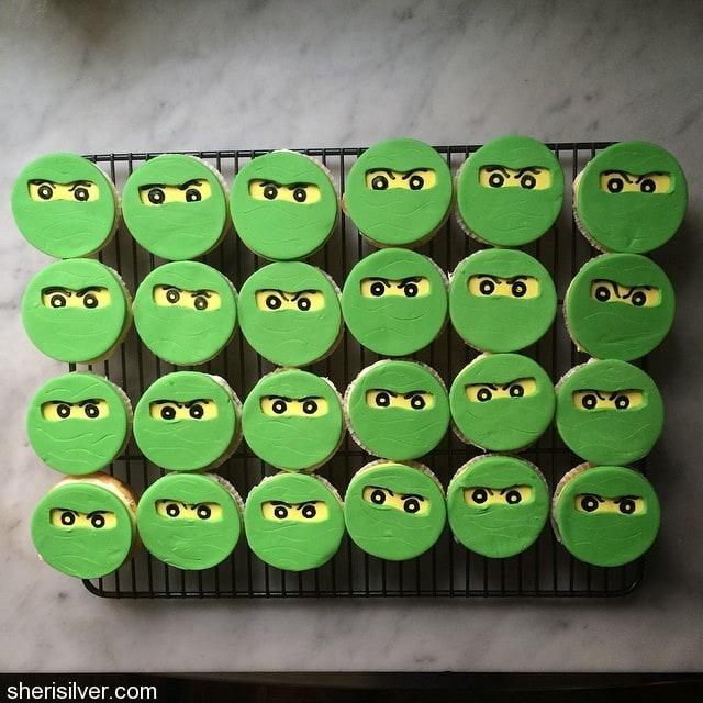 gum paste decorations ninjago