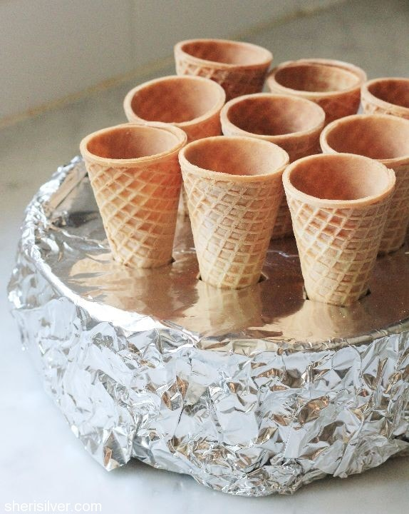 tepee cupcake cones