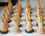 "favor-""ette"": tepee cupcake cones"