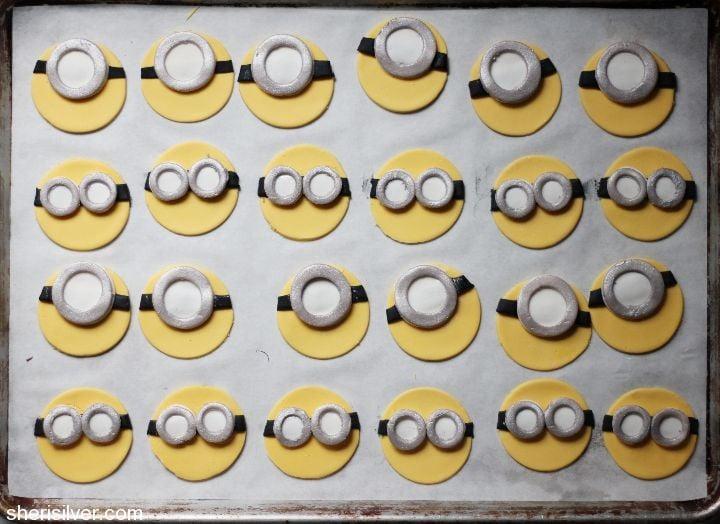 gum paste decorations minions