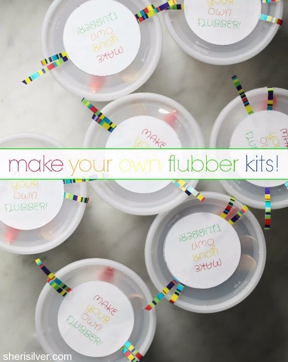 make your own flubber kits