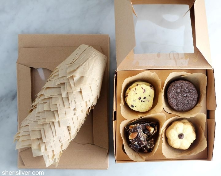 cupcake box cookie packaging