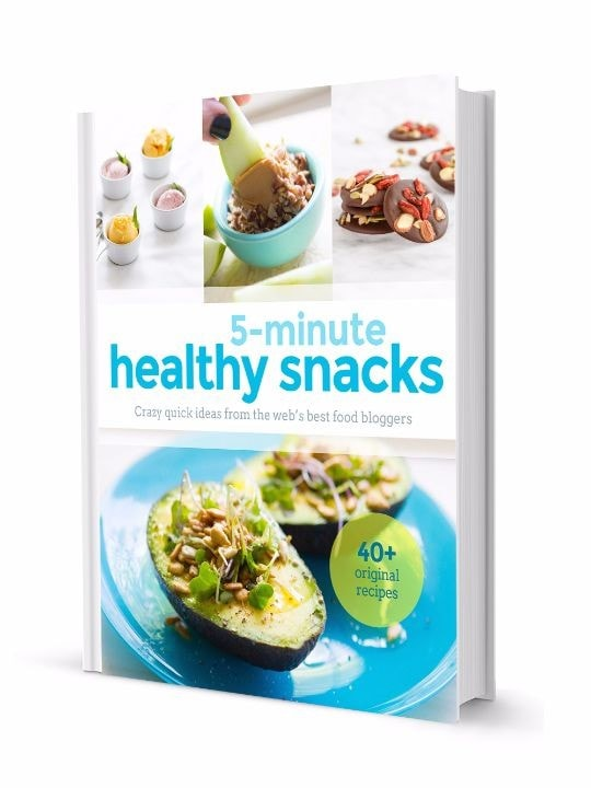 coterie cookbooks Healthy Snacks Preview