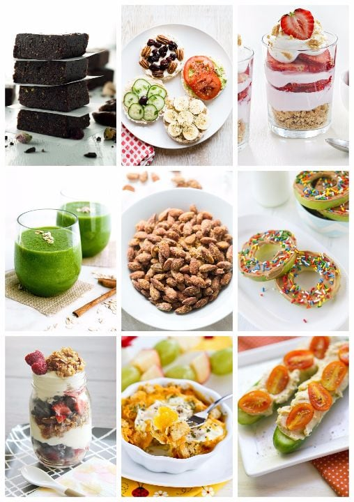 coterie cookbooks healthy snacks cover