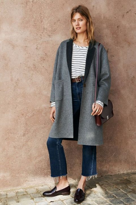 madewell cropped high riser flare