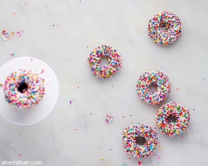 coconut flour mini doughnuts