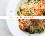 easy perfect meatballs