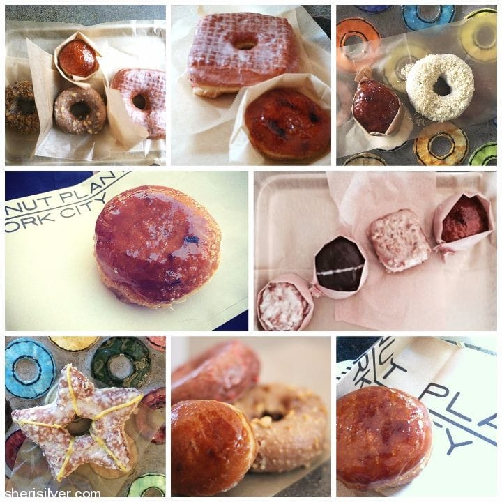 doughnut plant collage
