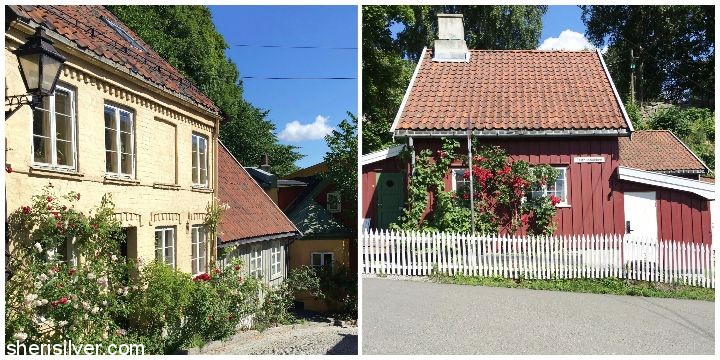 oslo Damstredet and Telthusbakken