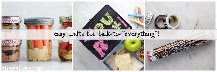 easy crafts back to school #shop