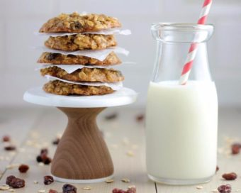 babble vegan gluten free oatmeal raisin cookies