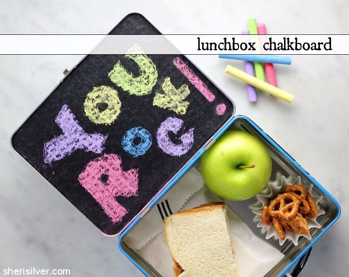 lunchbox chalkboard #shop