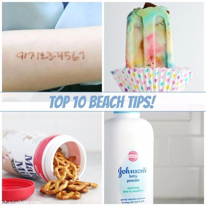 top 10 beach tips
