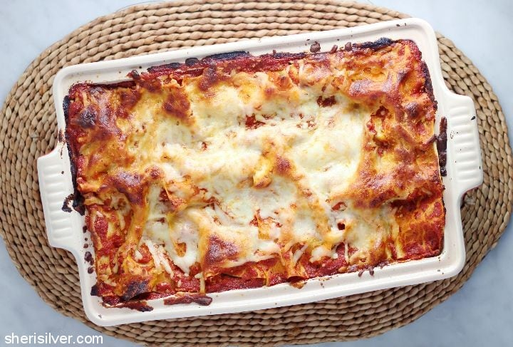 oasted-vegetable-lasagna #ad