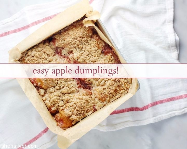 7UP apple dumplings #ad