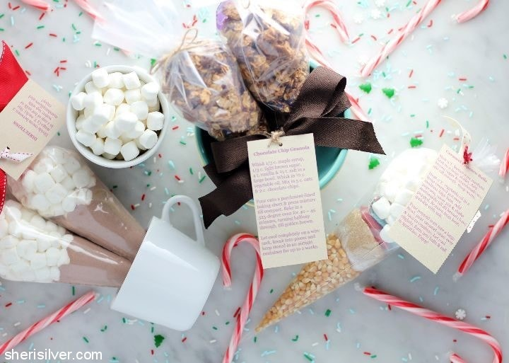 pastry bag food gifts