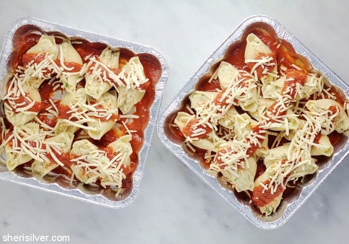 vegan stuffed shells homemade ricotta