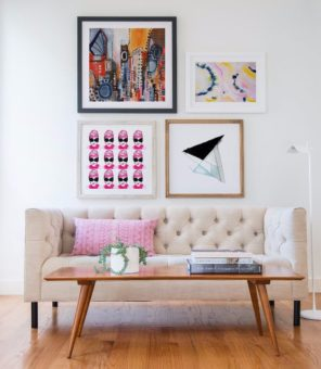 Fancy Girl Gallery Wall Art by Melanie Biehle at Minted