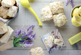 lavender lemon scones
