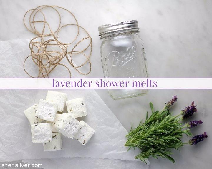 lavender shower melts