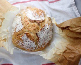 no knead bread #ad