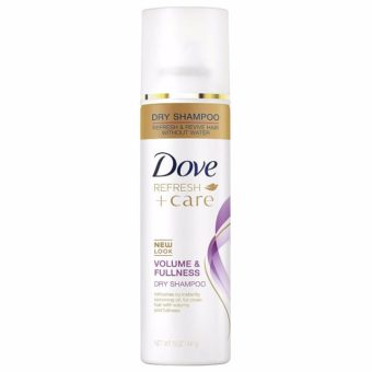 dove refresh dry shampoo