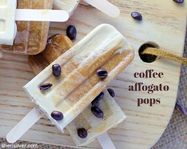Coffee Affogato Pops l sherisilver.com