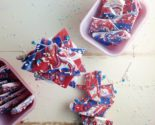 red white blue bark