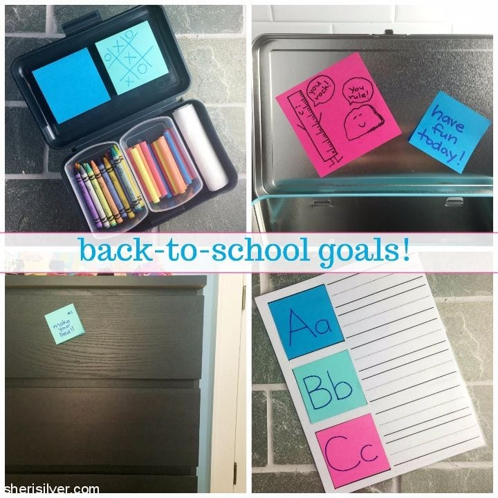 back to school goals #ad