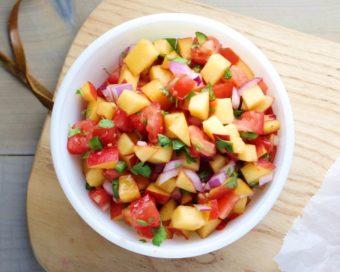 Peach Salsa l sherisilver.com