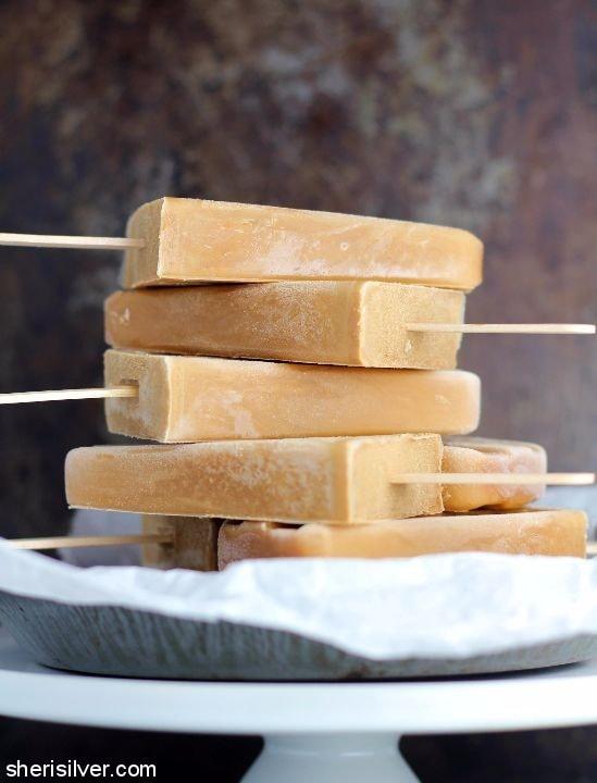 Bourbon Butterscotch Latte Pops l sherisilver.com