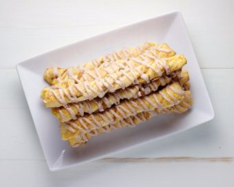 Pumpkin Cheesecake Twists l sherisilver.com