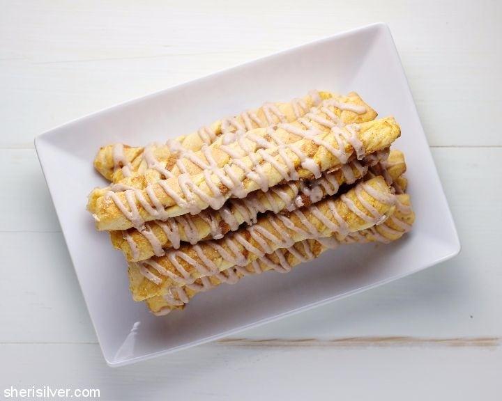 Pumpkin Cheesecake Twists l sherisilver.com