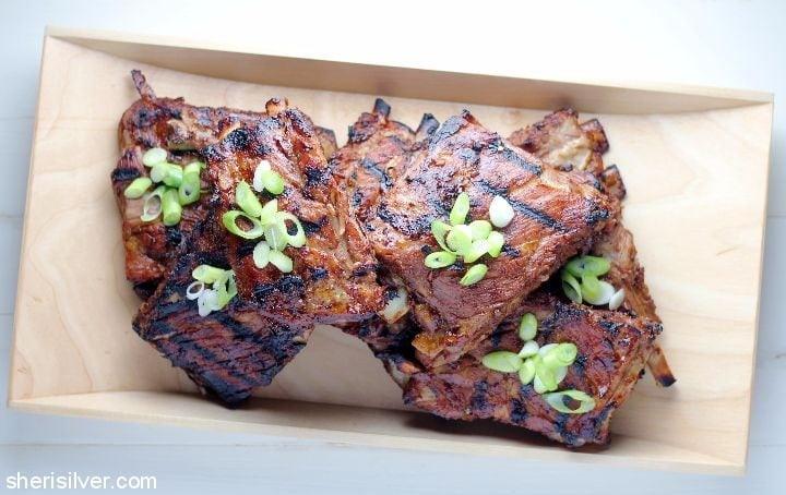 Ginger Glazed Ribs #ad
