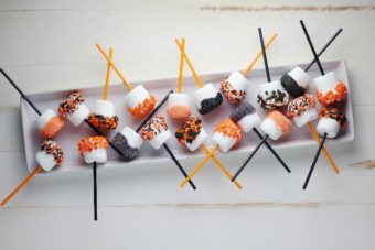 Halloween Marshmallows l sherisilver.com