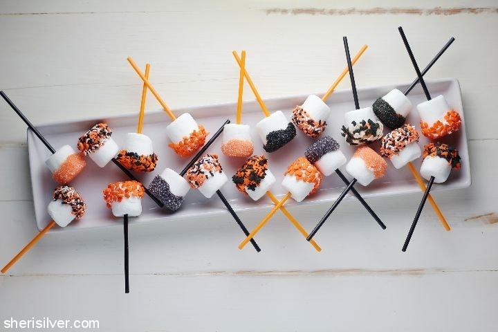 Halloween Marshmallows l sherisilver.com