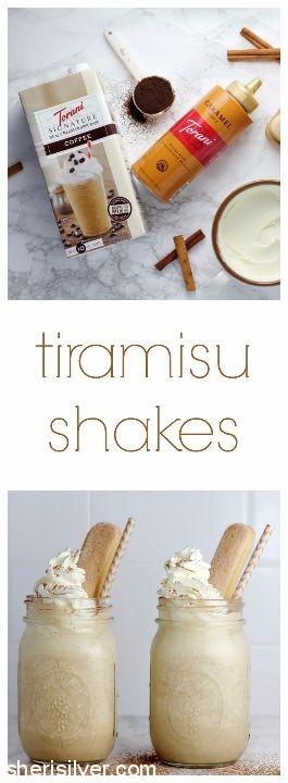 Tiramisu Shakes l sherisilver.com #ad
