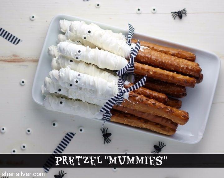 Pretzel Mummies l sherisilver.com