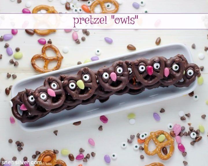 Pretzel Owls l sherisilver.com