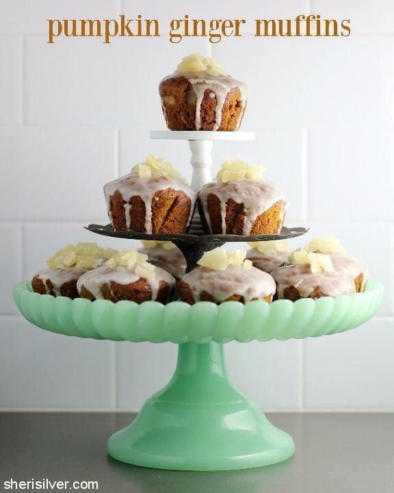 Pumpkin Ginger Muffins l sherisilver.com