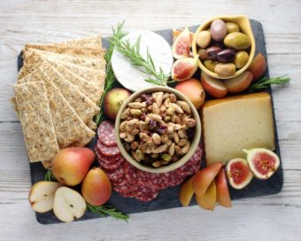 Perfect Cheese Board l sherisilver.com #ad