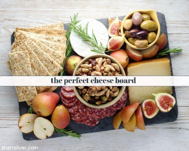 Perfect Cheese Board l sherisilver.com #ad
