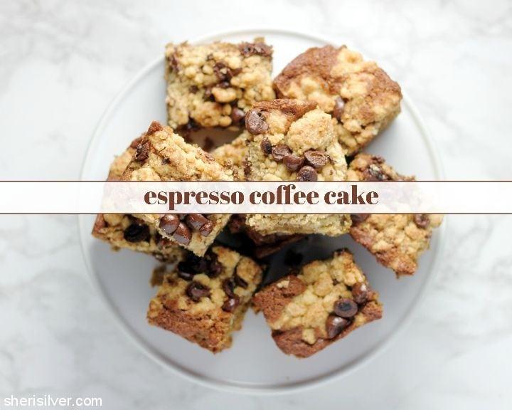 Espresso Coffee Cake l sherisilver.com