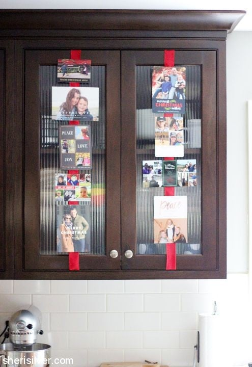 holiday card display l sherisilver.com