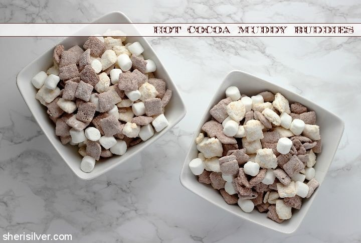 Hot Cocoa Muddy Buddies l sherisilver.com