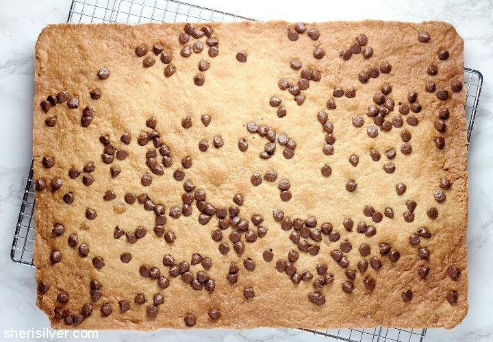 Chocolate Chip Cookie Brittle l sherisilver.com